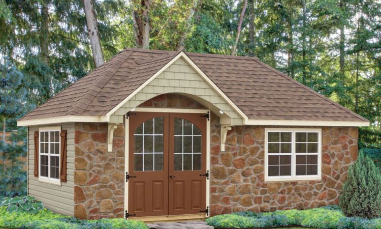 10x20 Shed10x20 Weekender Exterior 10x16 Shed Plans With