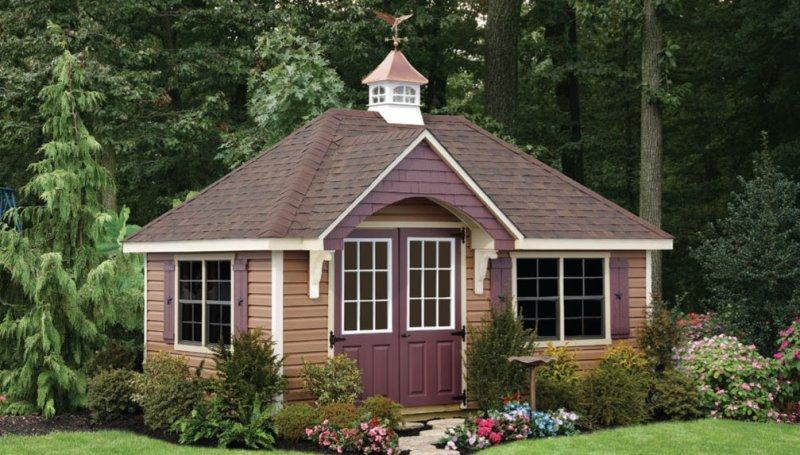 See More Photos Of Our Amish Built Sheds