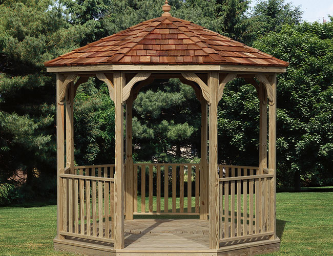 Amish built gazebos manlius ny the amish structures for Built in gazebo