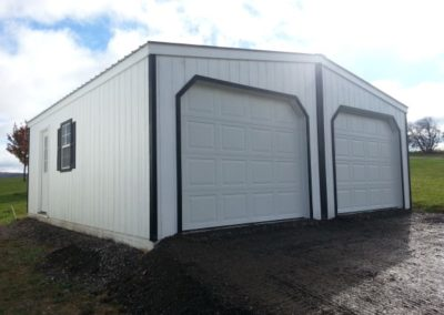 Just installed dual bay garage.