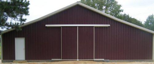 Amish pole barns manlius ny the amish structures for Amish barn construction