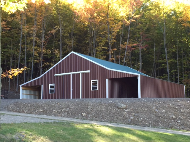 amish barns barn erie pole pa oh custom builders ashtabula quality roofing garage